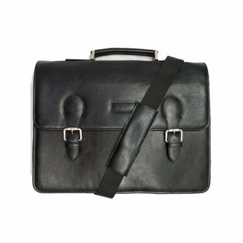 Classic Briefcase - Black - Black - Bag
