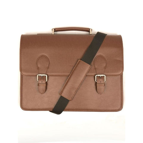 Classic Briefcase - Chestnut - Chestnut - Bag