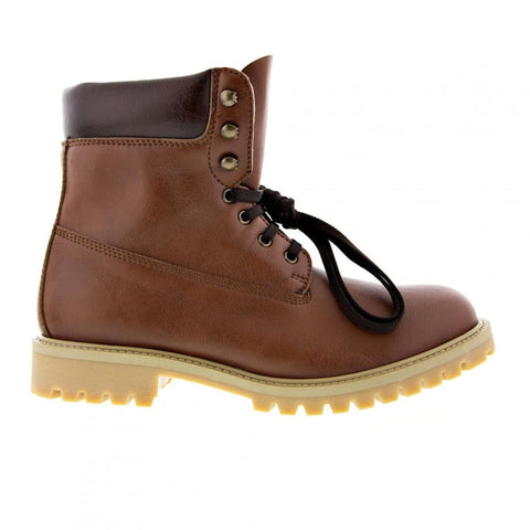 Claudia and Claudio Nappa - unisex boots - 2.5 UK / 35 EU / 3.5 USM / 4.5 USF / Brown - Boots