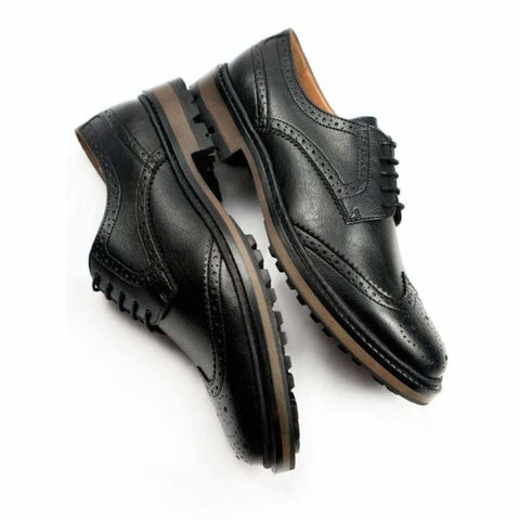 Continental Brogues - Black - Shoes
