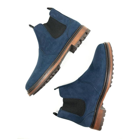 Continental Chelsea Boots - Dark Blue - Boots