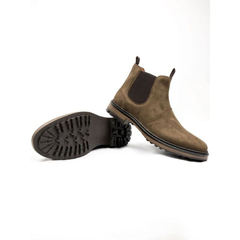 Continental Chelsea Boots - Dark Brown - Boots