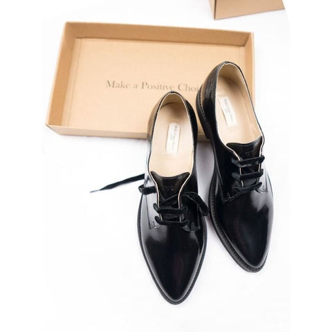 Deluxe Derbys - Black - Shoes