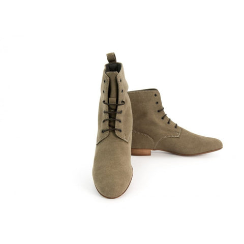 Eleonora - vegan ankle boots - taupe - Boots