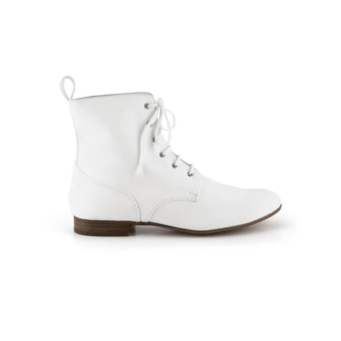 Eleonora - vegan ankle boots - white - Boots