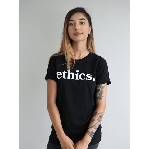 Ethics. Black Tees - Tee