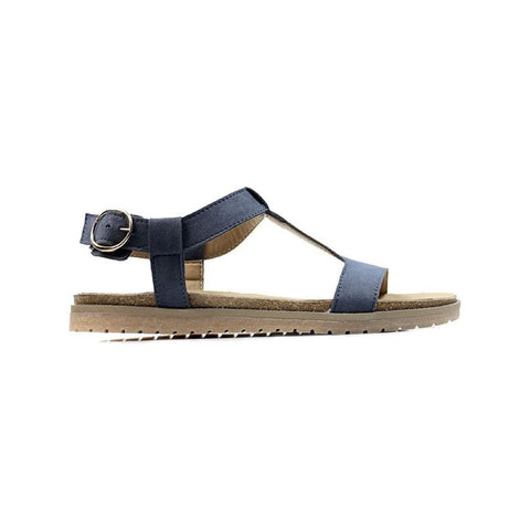 Footbed Sandals - Cobalt - Sandals