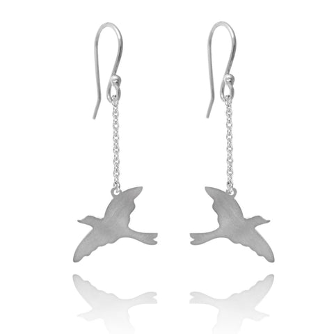 Free Bird Drop Earrings - Earrings