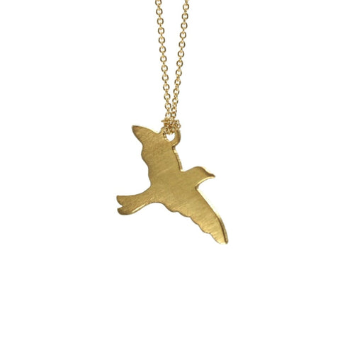 Free Bird Necklace - Gold Plated - Necklaces