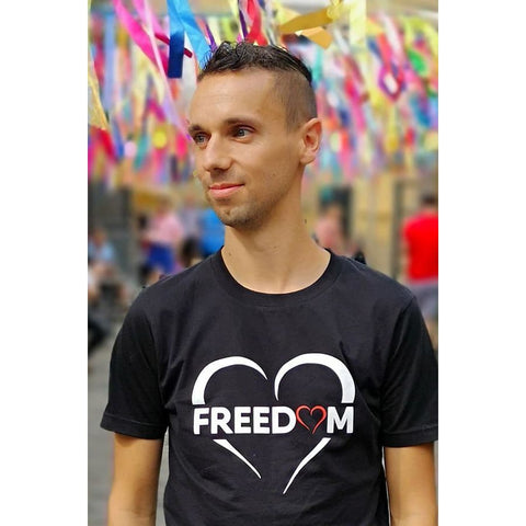 FREEDOM ADULT BLACK TEE - Tee