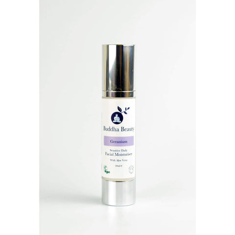 Geranium Intense Daily Moisturiser - Organic Sensitive Skin - 50 Ml - Face Creams