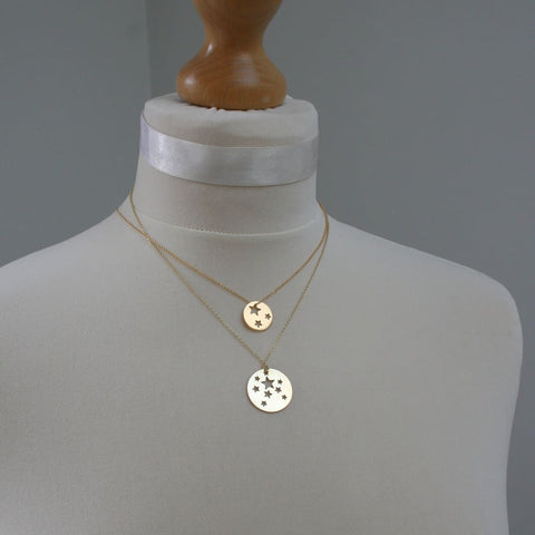 Gold Plated Star Necklace - Necklaces