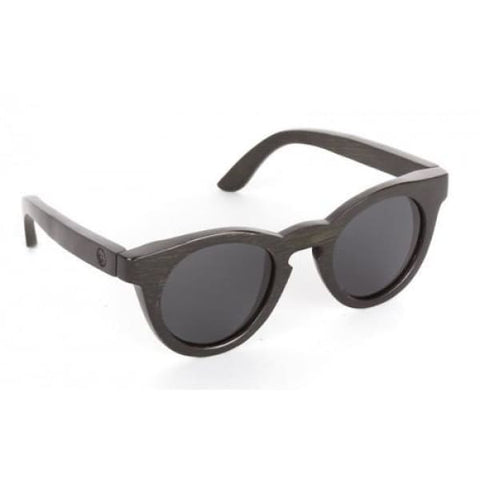Hepburn - Black Bamboo Sunglasses - Sunglasses