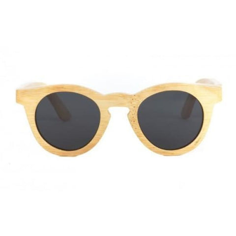 Hepburn - Natural Bamboo Sunglasses - Sunglasses