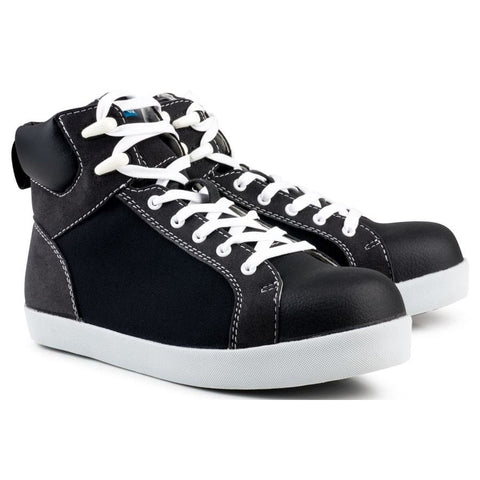 High Top S2-P-SRC Safety Sneaker Black - Sneakers
