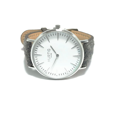Hymnal Mens Watch - Silver / White / Grey - Watch