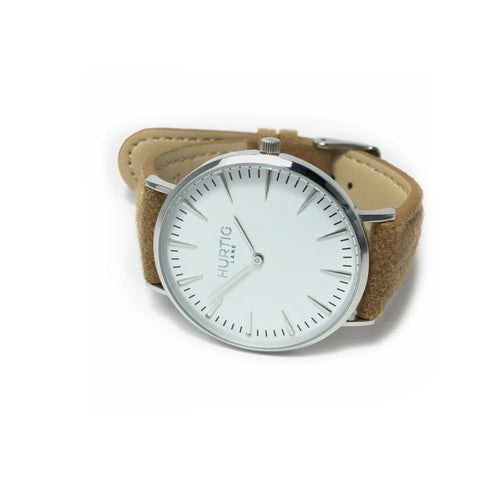 Hymnal Womens Watch Tweed - Silver / White / Camel - Watch