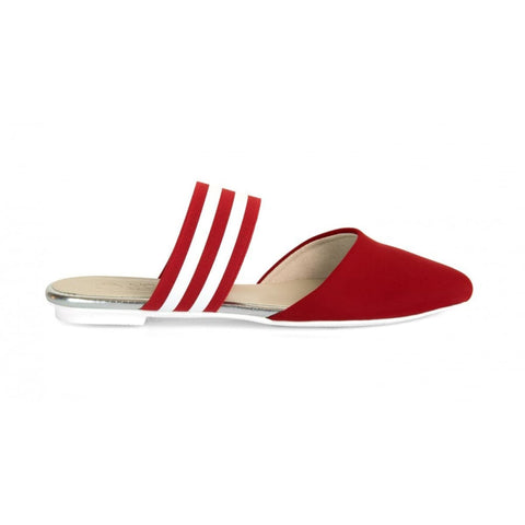 Isabella Vegan Slip-on - Red / 2 UK / 34 EU / 3 USM / 4 USF - Shoes