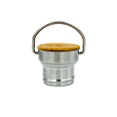 Jerry Bamboo Lid - Water Bottle Cap