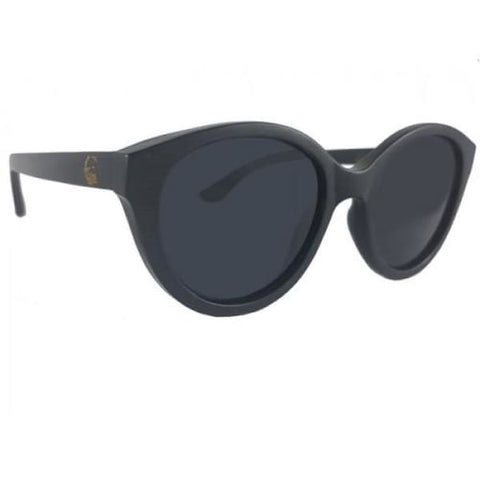 Joyce - Black Bamboo Sunglasses - Sunglasses