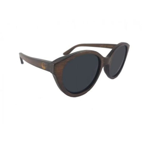 Joyce - Brown Bamboo Sunglasses - Sunglasses