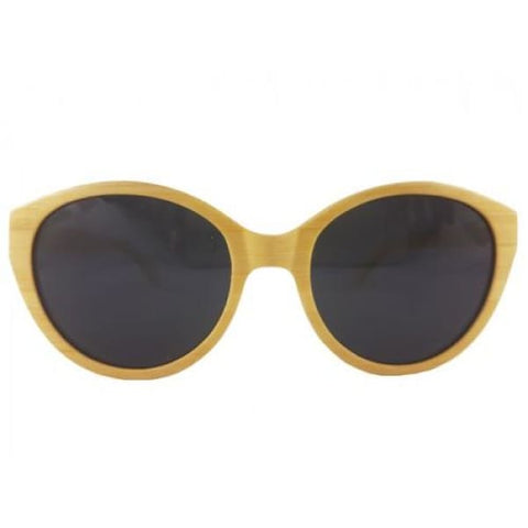 Joyce - Natural Bamboo Sunglasses - Sunglasses