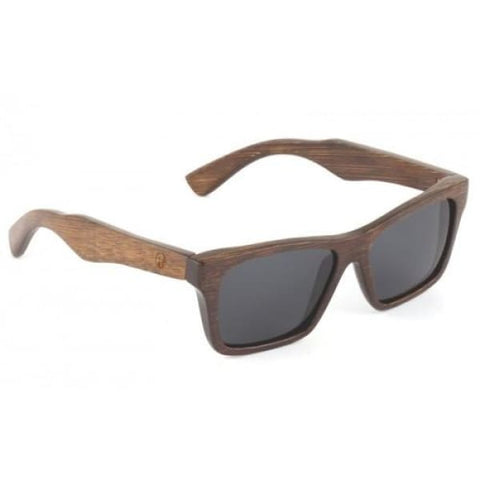 Kennedy - Brown Bamboo Sunglasses - Sunglasses