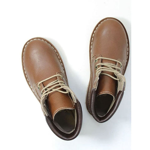 Kids Dock Boots - Chestnut - Boots