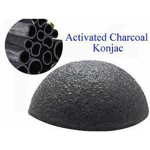 Konjac Activated Charcoal - Cleansers