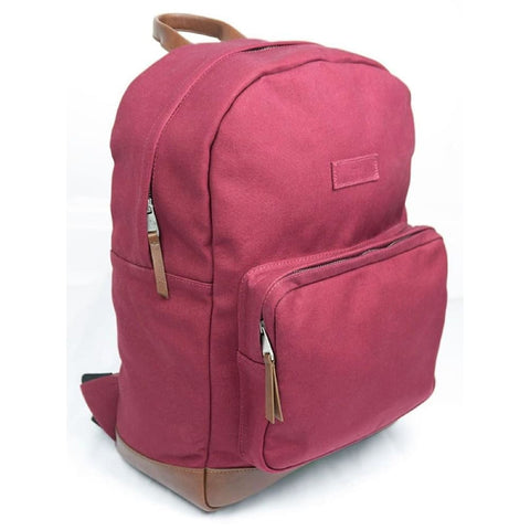 Large Backpack - Red - Red - Backpack