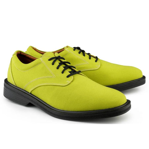 London Walker Lime Green - Flats