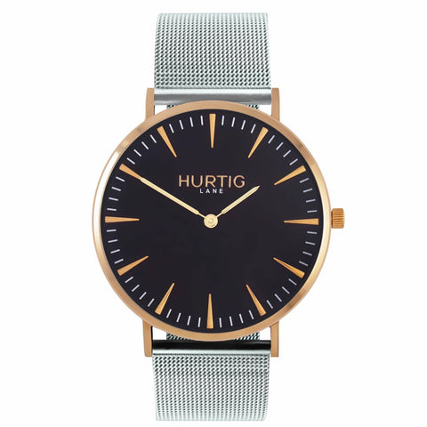 Lorelai Mens Watch - Gold / Black / Silver - Watch