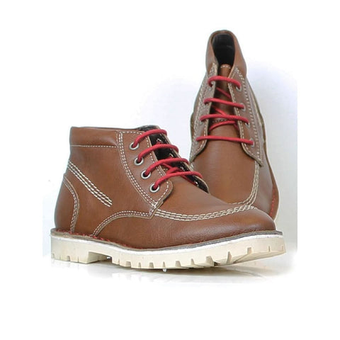 Low Boots - Chestnut - Boots