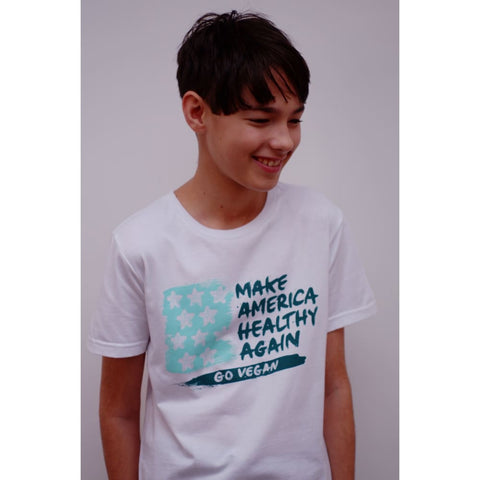 MAKE AMERICA HEALTHY AGAIN - White T-Shirt - Tee