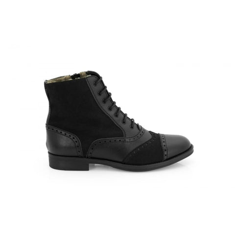 Marissa - Vegan Ankle Boot - Black - Boots