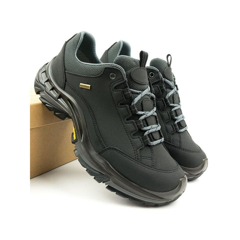 Mens Waterproof Hiking Shoes - Black - Shoes