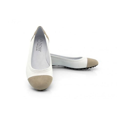 Milena Razza Vegan Flat - White - Shoes