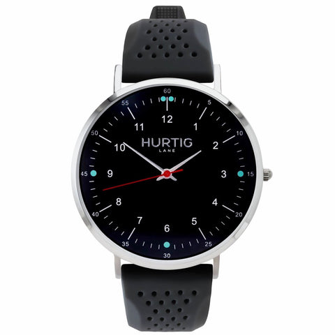 Moderno Attivo Mens Watch - Silver / Black / Grey - Watch