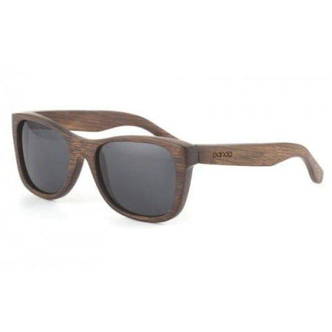 Monroe - Brown Bamboo Sunglasses - Sunglasses