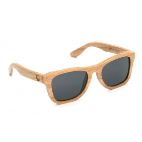 Monroe - Honey Bamboo Sunglasses - Sunglasses