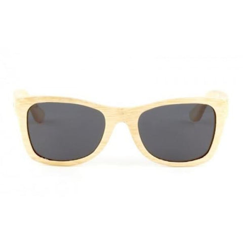 Monroe - Natural Bamboo Sunglasses - Sunglasses