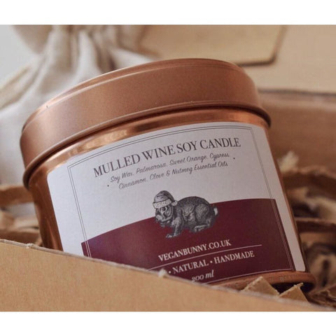 Mulled Wine Soy Candle - Soy Candle