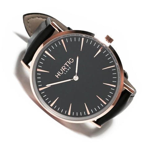 Mykonos Mens Watch - Rose Gold / Black / Black - Watch