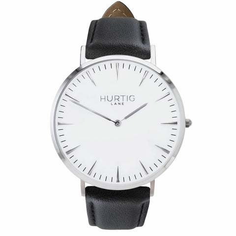 Mykonos Mens Watch - Silver / White / Black - Watch