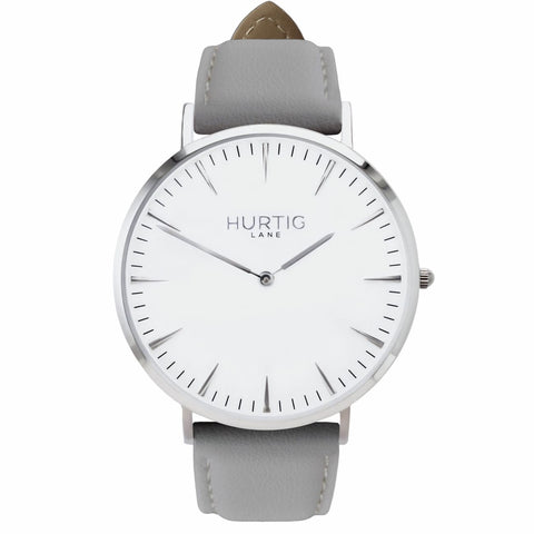 Mykonos Mens Watch - Silver / White / Grey - Watch