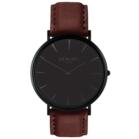Mykonos Watch - Black / Black / Dark Brown - Watch