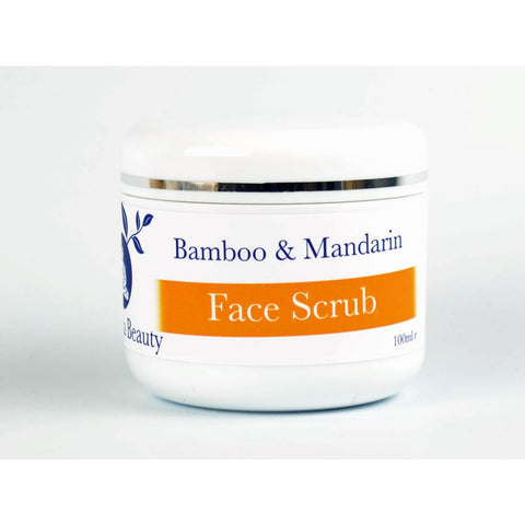 Natural Bamboo & Mandarin Facial Scrub - 100 Ml - Facial Scrubs