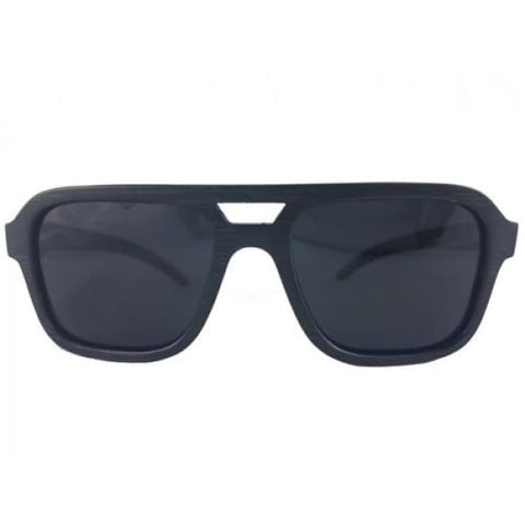 Nelson - Black Bamboo Sunglasses - Sunglasses