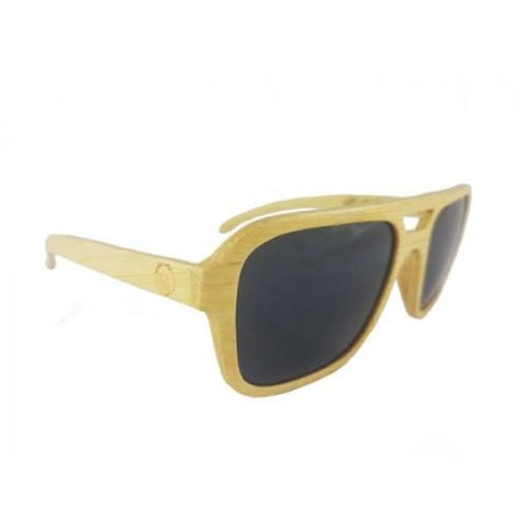 Nelson - Natural Bamboo Sunglasses - Sunglasses
