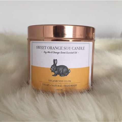 Orange Soy Candle - Soy Candle